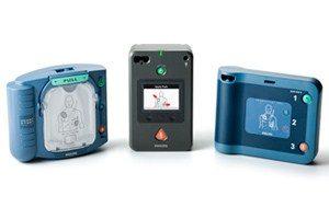Philips HS1 Defibrillator with Slim Case (recommended)